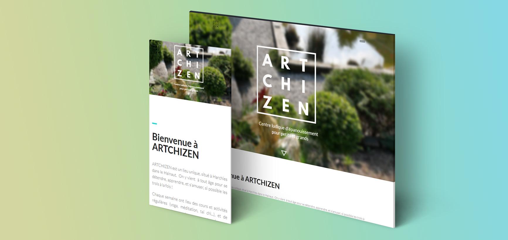 webdesign artchizen